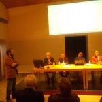 La conferenza stampa al Castello di Brolio