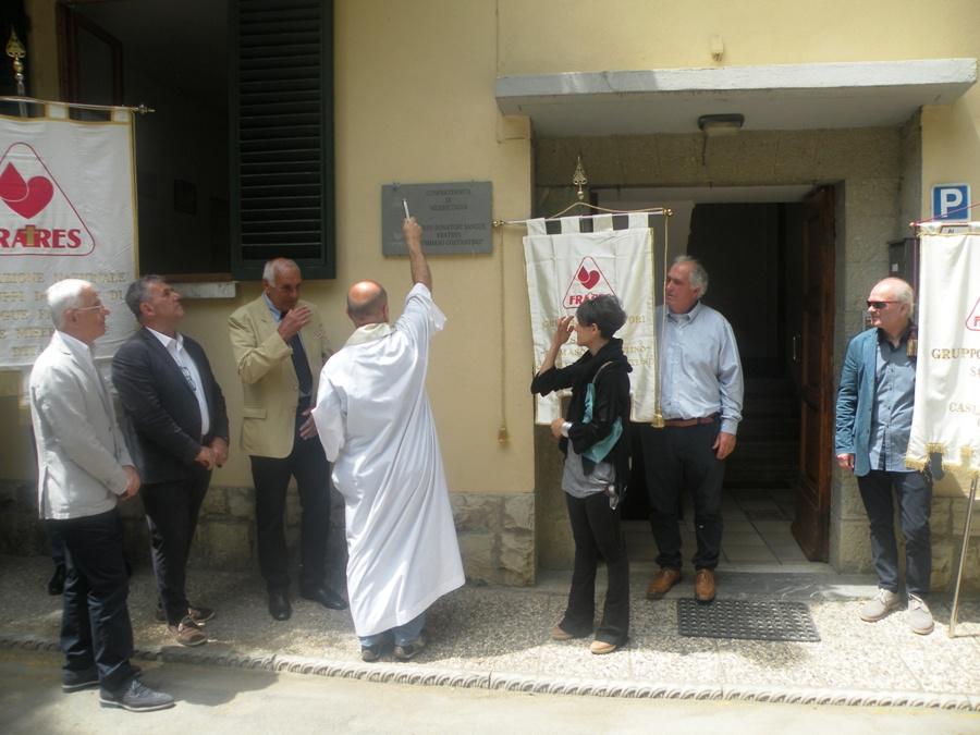 Inaugurazione nuova sede della Misericordia