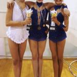 Martina Campionessa Naz. 2 Cat. Junior e Caterina Vice campionessa Naz 2 Cat. Juniores. E Marta