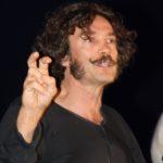 Alessio Boni sul palco del Niccolini